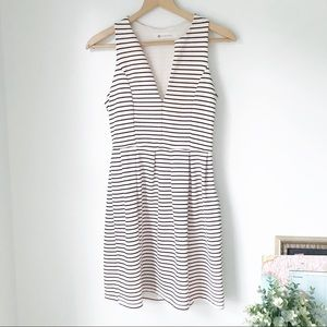 The Impeccable Pig Fit 'n Flare Striped Dress